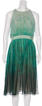 Giambattista Valli Printed Silk Dress