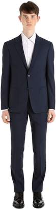 Ermenegildo Zegna Techmerino Wash'n Go Light Poplin Suit