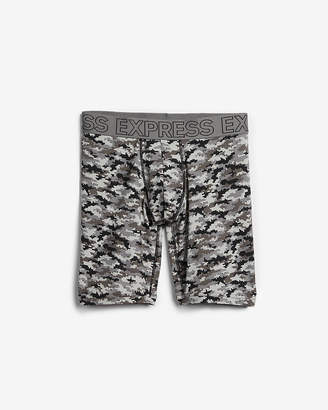 Express Gray Camo Performance Extended Boxer Briefs