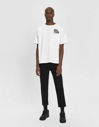 Need S/S Pocket Logo Tee in White