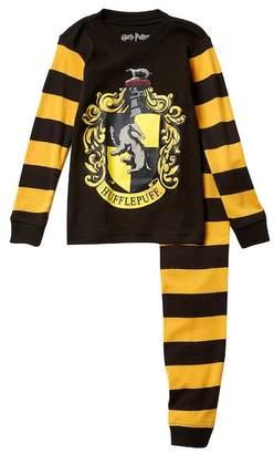 Intimo Harry Potter Hufflepuff Snug Fit Cotton PJ Set (Little Boys & Big Boys)
