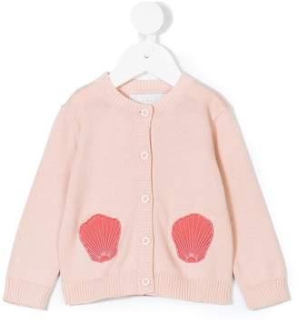 Stella McCartney shell appliquéd cardigan