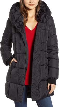 Sam Edelman Pillow Collar Puffer Coat