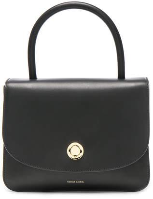 Mansur Gavriel Metropolitan Bag in Black Vegetable Tanned | FWRD