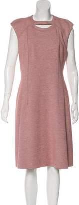 Akris Punto Sleeveless Midi Dress