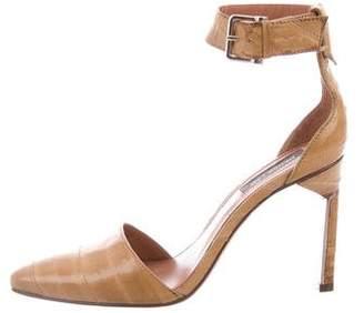 Derek Lam Eelskin Ankle Strap Pumps