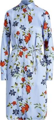 Ralph Lauren Print Twill Shirtdress