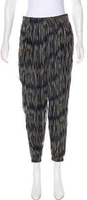 IRO High-Rise Printed Pants w/ Tags