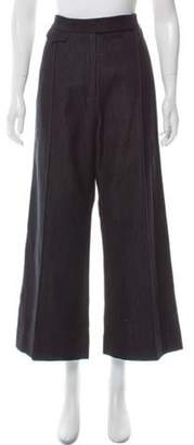 Protagonist High-Rise Wide-Leg Trousers w/ Tags Black High-Rise Wide-Leg Trousers w/ Tags