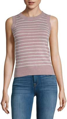 John & Jenn John + Jenn Women's Striped Knit Tank Top