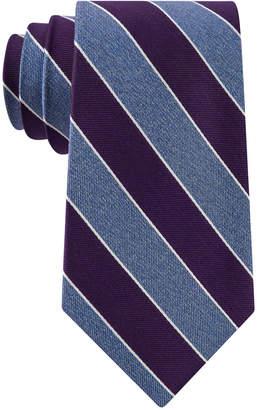 Club Room Men Heather Stripe Silk Tie