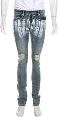 Stampd Metallic-Accented Jeans