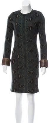 Chloé Knit Knee-Length Dress