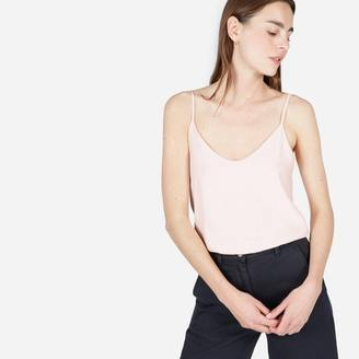 The Double-Lined Silk V-Neck Cami $65 thestylecure.com