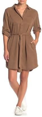 Velvet Heart Anita Solid Shirt Dress
