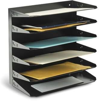 MMF Industries MMF, MMF2646HLBK, Horizontal Desk File Trays, 1 Each, Black