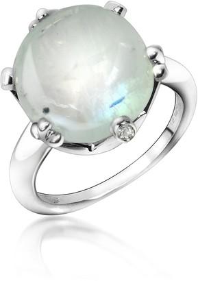 Tagliamonte Mia & Beverly Spectrolite and Diamond 18K Gold Ring