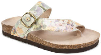 White Mountain Carly Flat Sandals Women Shoes