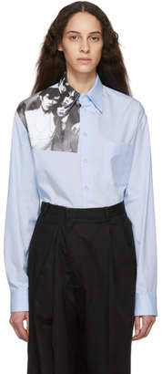 Raf Simons Blue Couple Shirt
