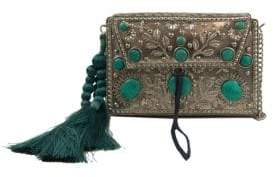 Sam Edelman Tarian Embellished Iron Crossbody Bag