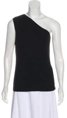 Michael Kors Asymmetrical Cashmere Top