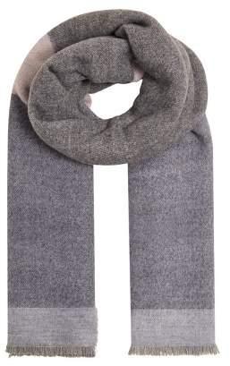MANGO Tricolor striped scarf