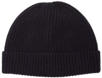 A.p.c. - Paul Wool Blend Beanie Hat - Mens - Navy