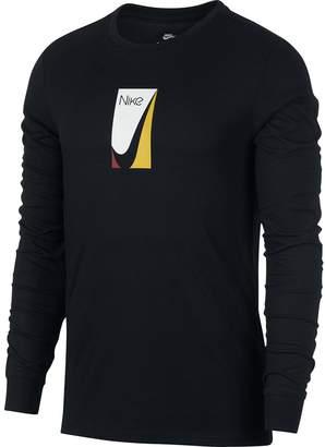 Nike SB Color Block Long-Sleeve T-Shirt - Men's
