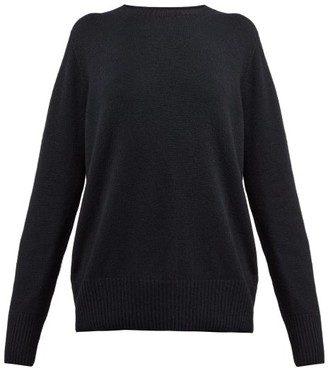 The Row Sibel Wool And Cashmere Blend Sweater - Womens - Black