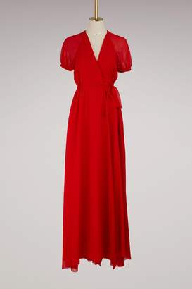 Lanvin Georgette long dress