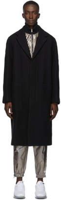 3.1 Phillip Lim Black Raglan Over Coat