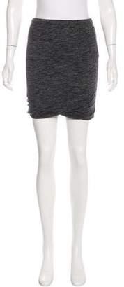 Etoile Isabel Marant Linen & Wool-Blend Mini Skirt
