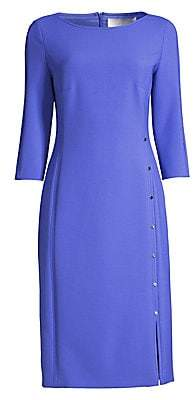 BOSS Women's Dikena Ponte Elbow-Sleeve Sheath Dress - Size 0