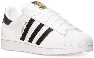 adidas Men's Superstar Casual Sneakers from Finish Line $79.99 thestylecure.com