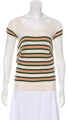Louis Vuitton Cashmere & Silk-Blend Knit Top