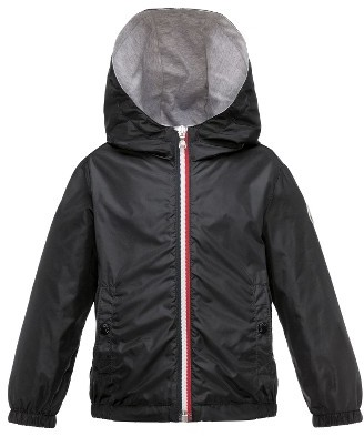 Toddler Boy's Moncler New Urville Water Resistant Windbreaker Jacket $245 thestylecure.com