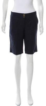 Tory Burch Linen Knee-Length Shorts