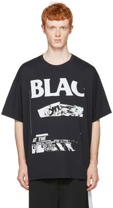 Facetasm Black 'Bla' T-Shirt $185 thestylecure.com