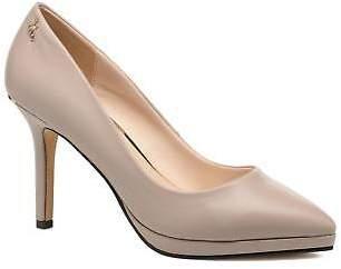 Menbur Women's Gela Pointed toe High Heels in Grey
