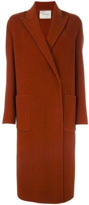 Lanvin classic oversize coat $2,985 thestylecure.com