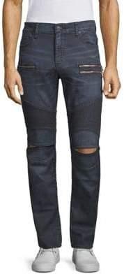 True Religion Slim-Fit Drift Moto Pants