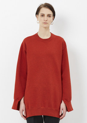 Ports 1961 wild ginger crew neck jersey $630 thestylecure.com