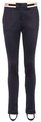 Gucci Jersey stirrup trousers