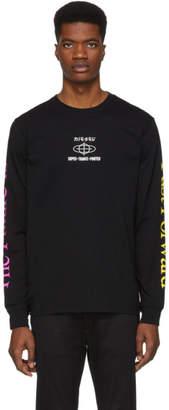Diesel Black T-Just-YB Long Sleeve T-Shirt