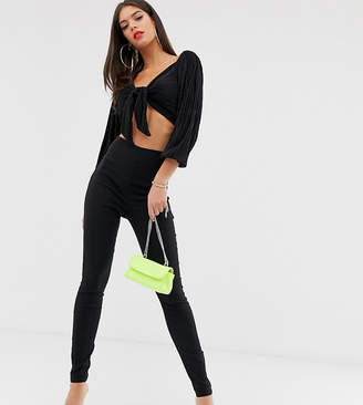 Asos Tall DESIGN Tall high waist trousers in skinny fit