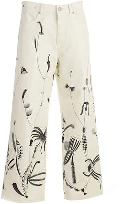 Dries Van Noten Piscosi Cropped Jeans
