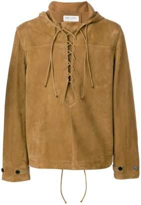 Saint Laurent pull-over hooded jacket