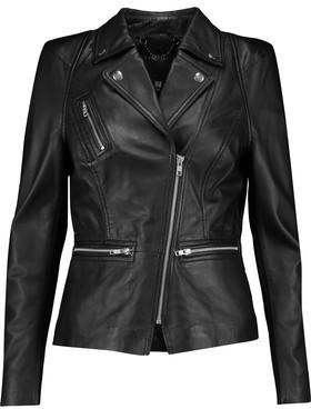 Muubaa Kajana Leather Biker Jacket $495 thestylecure.com