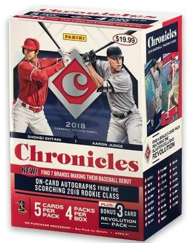 MLB 2018 MLB Chronicles Baseball Trading Card Box