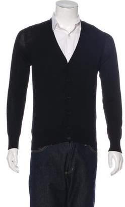 Bottega Veneta Wool V-Neck Cardigan